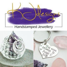 KJdesigns Handstamped Jewellery